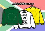 SA Rugby South Africa Club Souvenir Supporter Team Jerseys