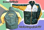 Green and Gold Sleeveless Jacket Jackets Body Warmers Bodywarmers
